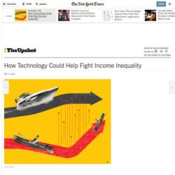 How Technology Could Help Fight Income Inequality
