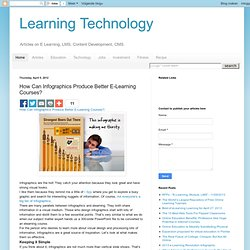 Technology: How Can Infographics Produce Better E-Learning Courses?