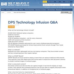 DPS Technology Infusion Q&A