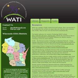 WATI.org : Wisconsin Assistive Technology Initiative