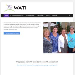 WATI.org : Wisconsin Assistive Technology Initiative