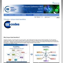 The Travel Technology Initiative - TTI