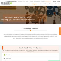 Top Technology Solutions Providers in Delhi