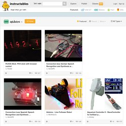 Technology Arduino Featured Instructables
