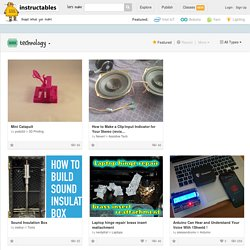 Technology Instructables
