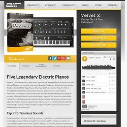 AIR Music Technology - Velvet