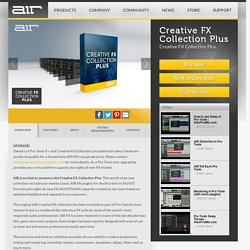 AIR Music Technology - Creative FX Collection