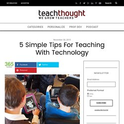 5 Secrets For Smarter Education Technology Integration