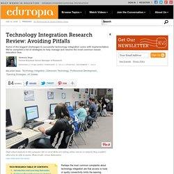 Technology Integration Research Review: Avoiding Pitfalls