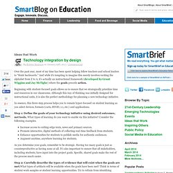 Technology integration by design SmartBlogs