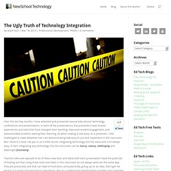 New School Technology – The Ugly Truth of Technology Integration