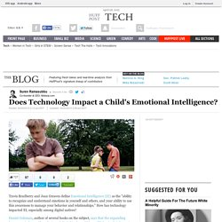 Does Technology Impact a Child's Emotional Intelligence?