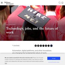 L'automatisation des métiers