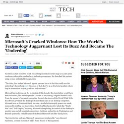 Microsoft's Cracked Windows: How The World's Technology Juggernaut Lost Its Buzz And Became The 'Underdog'