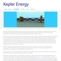 Technology - Kepler Energy