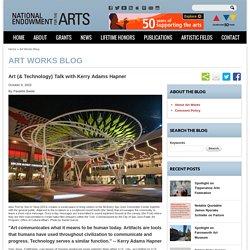 Art (& Technology) Talk with Kerry Adams Hapner
