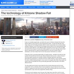 The technology of Killzone Shadow Fall