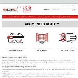 Augmented Reality – Human Interface Technology Laboratory New Zealand