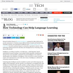 How Technology Can Help Language Learning