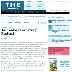 Technology Leadership Evolved