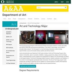 Art and Technology Major