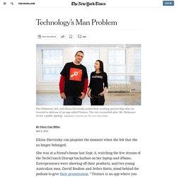 Technology's Man Problem