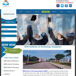 BMSIT - Admission, Fee Structure, NRI Quota, Management Quota, Direct Admission