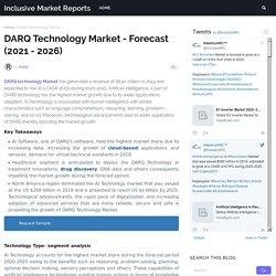 DARQ Technology Market - Forecast (2021 - 2026)