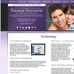 Advanced Dental Technology at Premier Dentistry of the Palm Beaches West Palm Beach FL 33401, Digital Xrays, Dental Mouthguards, Oral Cancer Screening