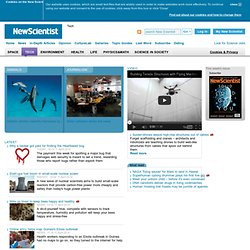 Technology news and new technology highlights from New Scientist - New Scientist Tech