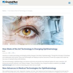 How State of the Art Technology Is Changing Ophthalmology