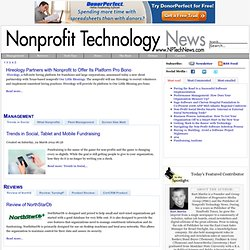 Nonprofit Technology | Technology Nonprofit | Nonprofit Software | Fundraising Software I Fund Accounting Software