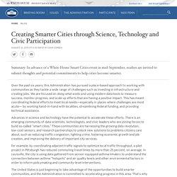 Creating Smarter Cities