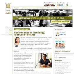 Richard Florida on Technology, Talent, and Tolerance