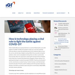 How Is Technology Playing A Vital Role To Fight The Battle Against COVID-19?