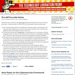 Technology Liberation Front — Keeping politicians' hands off the Net & everything else related to technology