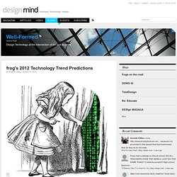 frog's 2012 Technology Trend Predictions