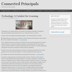 Technology: A Catalyst for Learning