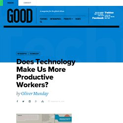 Does Technology Make Us More Productive Workers? - Technology