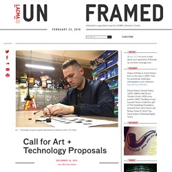 Call for Art + Technology Proposals
