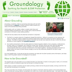 All about Grounding/Earthing Technology for Health & EMF Protection