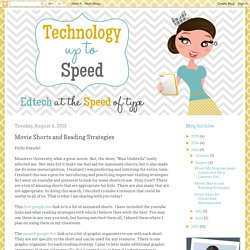 Technology Up to Speed: Movie Shorts and Reading Strategies