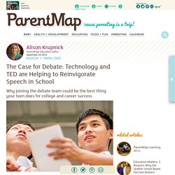The Case for Debate: Technology and TED are Helping to Reinvigorate Speech in School