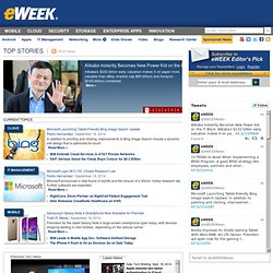 Microsoft's Week: Azure and Office 2010 Show the Cloud Will