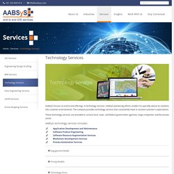 Technology Services at AABSyS