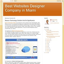 Best Websites Designer Company in Miami: Beacon Technology Solution And Its Significance