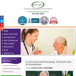 In-home Care and Technology: The Smart Uses of Smartphones