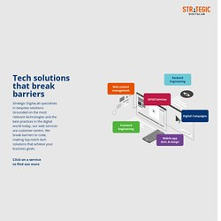 Technology Solutions that Break Barriers