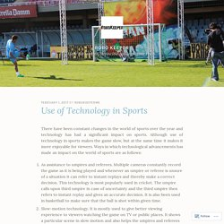 Use of Technology in Sports – Robo Keeper