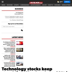 Technology stocks keep stumbling; Nasdaq down 10% in 3 days